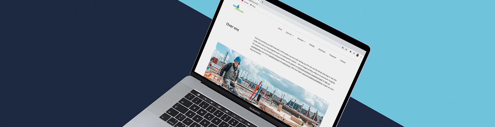 Nieuwe website DBI-Techniek