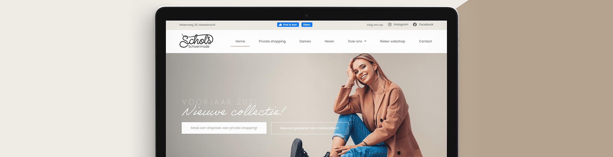 Schols Schoenmode nieuwe website